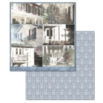 Ken Oliver - Hometown Cottage - Journaling Cards 12x12 Paper