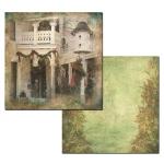 Ken Oliver - Hometown Christmas - Christmas Cottage 12x12 Paper