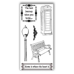 Ken Oliver - Hometown Cottage - Clear Stamps - Set 1