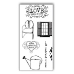 Ken Oliver - Hometown Cottage - Clear Stamps - Set 2