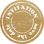 RoyalPosthumus - Woodies - Invitation  Save The Date
