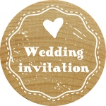 RoyalPosthumus - Woodies - Wedding Invitation