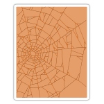 Sizzix - Texture Fades Embossing Folder - Cobwebs by Tim Holtz