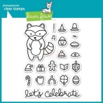 Lawn Fawn - Holiday Party Animal Stamp Set