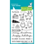 Lawn Fawn - Toboggan Together Stamp Set