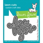 Lawn Fawn - Lawn Cuts - Scripty For You Die