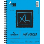 "Canson® XL® 7"" x 10"" Mix Media Pad (Side Wire): Wire Bound, White/Ivory, Pad, 60 Sheets, 7"" x 10"", (model C100510926), price per 60 Sheets pad"