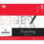 "Canson® Foundation Series 14"" x 17"" Tracing Paper Pad; Binding: Fold Over; Color: White/Ivory; Format: Pad; Quantity: 50 Sheets; Size: 14"" x 17""; Texture: Smooth; (model C100510962), price per 50 Sheets pad"
