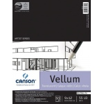 "Canson® Artist Series 9"" x 12"" Vellum Sheet Pad; Binding: Fold Over; Color: White/Ivory; Format: Pad; Quantity: 50 Sheets; Size: 9"" x 12""; Texture: Smooth; (model C100510983), price per 50 Sheets pad"