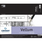 "Canson® Artist Series 14"" x 17"" Vellum Sheet Pad; Binding: Fold Over; Color: White/Ivory; Format: Pad; Quantity: 50 Sheets; Size: 14"" x 17""; Texture: Smooth; (model C100510985), price per 50 Sheets pad"