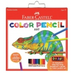 Faber-Castell® Do Art Color Pencil Set: Kit, Children's Art Kit, (model FC14550), price per set