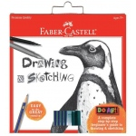 Faber-Castell® Do Art Drawing & Sketching Pencil Set: Kit, Children's Art Kit, (model FC14558), price per set