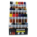 MOLOTOW™ Acrylic Pump Marker Starter Display Assortment; Ink Type: Paint; Refillable: Yes; Type: Paint Marker; (model MOL24ASST), price per each
