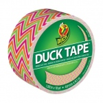 Duck Tape® Zigzag Tape (Roll); Color: Multi; Format: Roll; Size: 10 yd; Type: Pattern; (model DT280978), price per each
