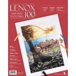 "Lenox 100 Cotton Printing & Drawing Paper Pad 11"" x 14"": White/Ivory, Pad, 15 Sheets, 11"" x 14"", Medium, Drawing, (model L21-LEN250WH1114), price per 15 Sheets pad"