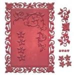 Spellbinders - Decorative Holly Frame Die