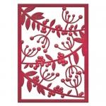 Spellbinders - Mistletoe Card Front Die