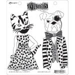 Ranger - Dyan Reaveley - Dylusions - Cling Stamps - Winston & Lulu