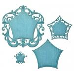 Spellbinders - Nestabilities - Label 48 Decorative Elements
