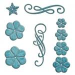 Spellbinders - Designer Dies - Cinch and Go Flowers