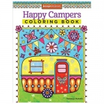 Design Originals - Happy Camper Zentangle Coloring Book