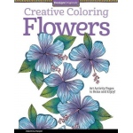 Design Originals - Creative Coloring Flowers Coloring Book