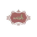 Couture Creations - Christmas Eve - Christmas Wish 2 Pc Die Set