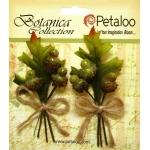 Petaloo - Beaded Acorn Pick x 2 - Red