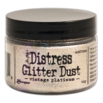 Tim Holtz - Distress - Glitter Dust - Vintage Platinum