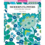 Design Originals - Modern Flowers Coloring Book