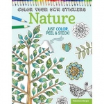Design Originals - Color Your Own Stickers Nature Coloring Book