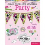 Design Originals - Color Your Own Stickers Party Coloring Book