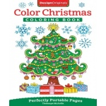 Design Originals - Color Christmas Coloring Book