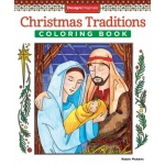Design Originals - Christmas Traditions Coloring Book