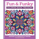 Design Originals - Fun & Funky Coloring Book Treasury