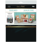 Thermoweb - iCraft - Deco Foil - Toner Sheets - 3 Sheets