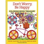 Design Originals - Don't Worry, Be Happy Coloring Book Treasury