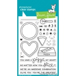 Lawn Fawn - Pizza My Heart Stamp Set
