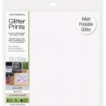 Glitter Prints - Inkjet Printable Glitter Paper - 12x12 Assorted