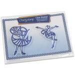 Claritystamp - Beauty & Charm Ballerinas Stamp Set
