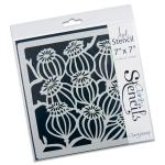 Claritystamp - Pods Stencil 7x7 Inches