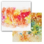 Ken Oliver - Color Burst Splash - Swoosh 12x12 Paper