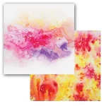Ken Oliver - Color Burst Splash - Swirl 12x12 Paper