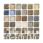 Advantus - Tim Holtz - Ideaology - Paper Stash - Dapper 12x12 Pad