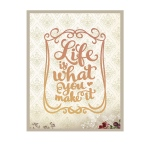 Couture Creations - It's a Beautiful Life - Life Is