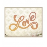 Couture Creations - It's a Beautiful Life - Love Letters Die
