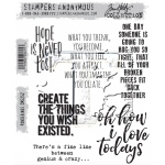 Stampers Anonymous - Tim Holtz - Ponderings Stamps