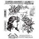 Stampers Anonymous - Tim Holtz - Lady Rose Stamps