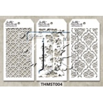 Stampers Anonymous - Tim Holtz - Stencil - Mini Stencil Set #4