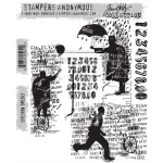 Stampers Anonymous - Tim Holtz - Sideshow Stamps